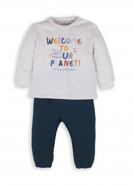 """Jungen Set 2 tlg. """"Welcome to our Planet"""""""