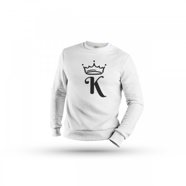 Herren Sweatshirt -King & Queen Couple