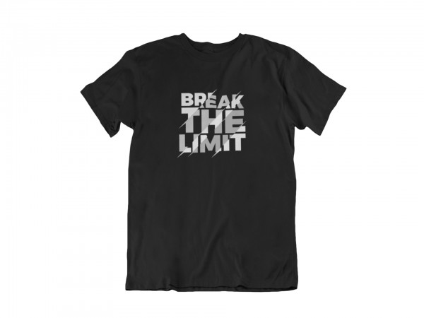 "Herren T Shirt ""Break the limit"""