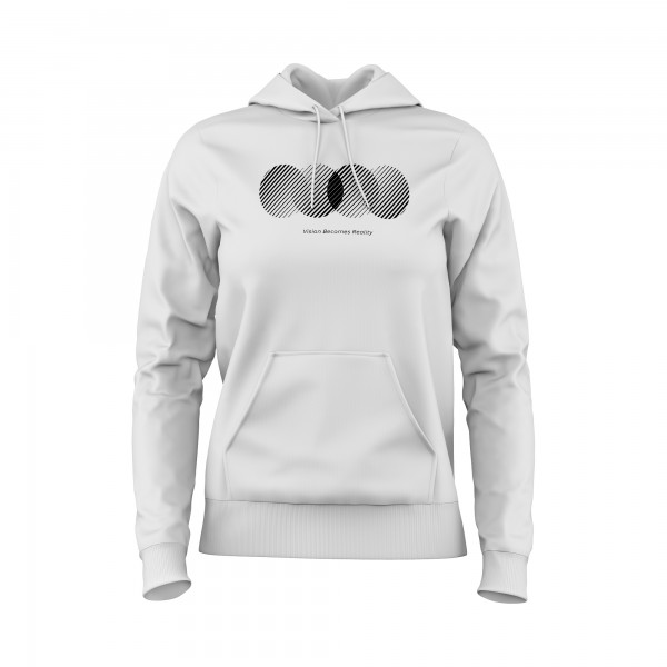 Damen Hoodie -Vision becomes reality