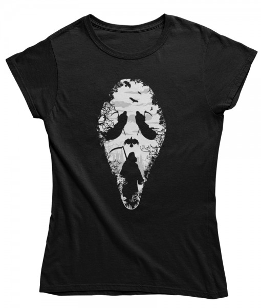 "Damen T Shirt ""Scream"""