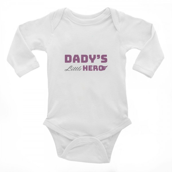 "Baby-Body ""Dady's little hero"""