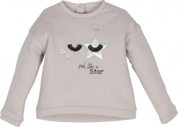 "Sweatshirt ""feel like a star"""