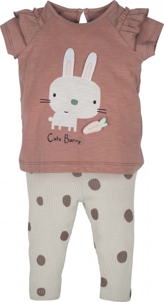 "Set T-Shirt mit Hose ""Cute bunny"""