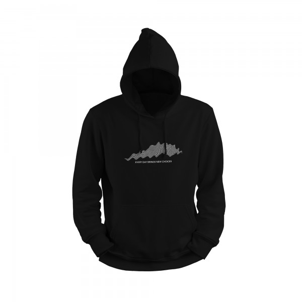 Herren Hoodie -every day brings new choices I