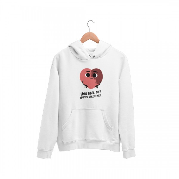 Damen Hoodie - You heal me happy valentines