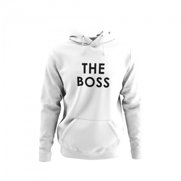 Herren Hoodie -The boss couple
