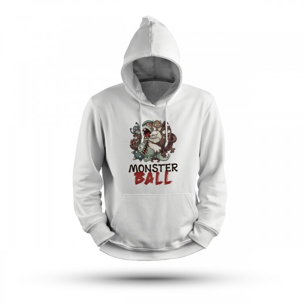 Damen Desinger Hoodie -Monster Ball