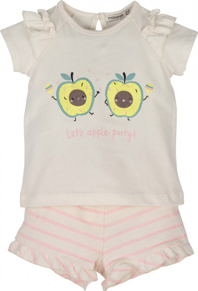 Set Bluse mit Short -Let's apple-party
