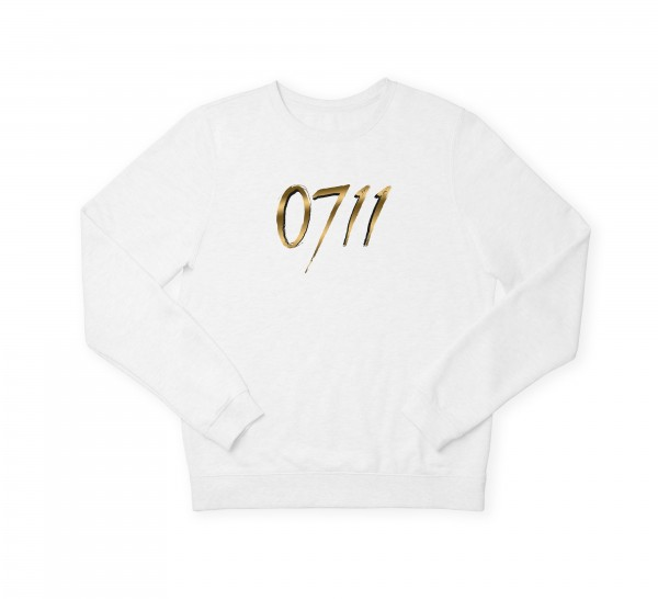 "Herren Sweatshirt ""0711 Black & Gold"""