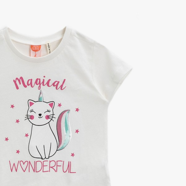 Mädchen T-Shirt -Magical wonderful