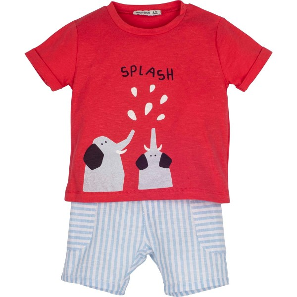 "Set T-Shirt mit Short ""Splash"""