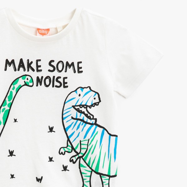 Jungen T-Shirt -make some noise