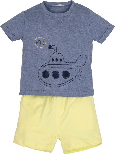 "Set T-Shirt mit Short ""U-Boot"""