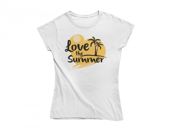 "Damen T Shirt ""Love the summer"""