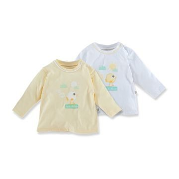 2er-Pack: Baby-Shirts
