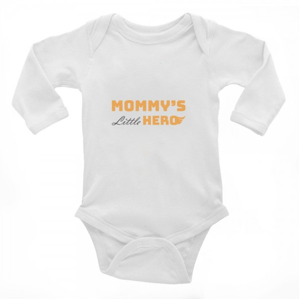 "Baby-Body ""mommy's little hero"""