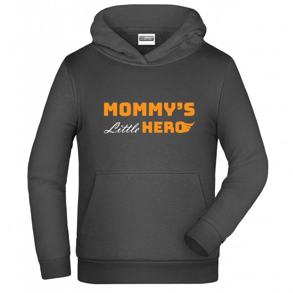 "Hoodie ""Mommy's little hero"""