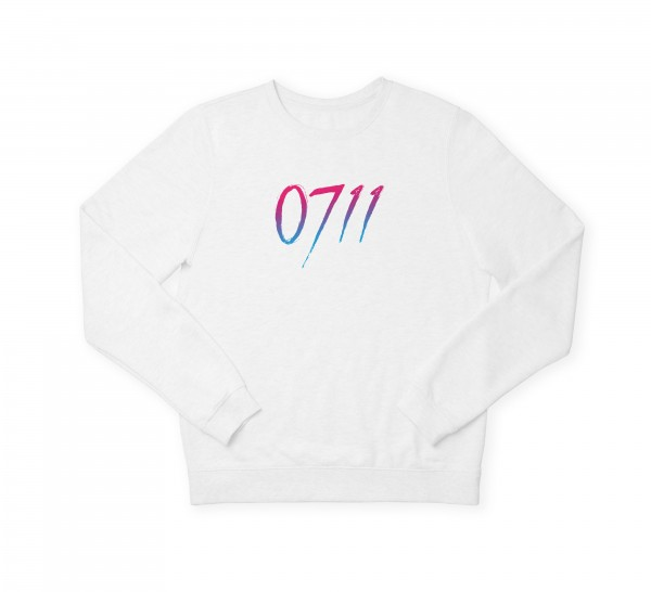 "Damen Sweatshirt ""0711 Blue & Pink"""