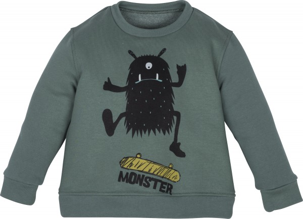 "Sweatshirt mit Motiv ""Monster"""