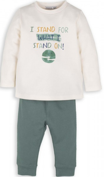 "Jungen Schlafanzug ""i stand for what i stand on"""