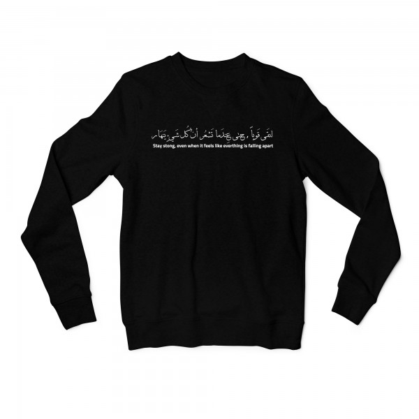 "Sweatshirt ""Stay Strong"""