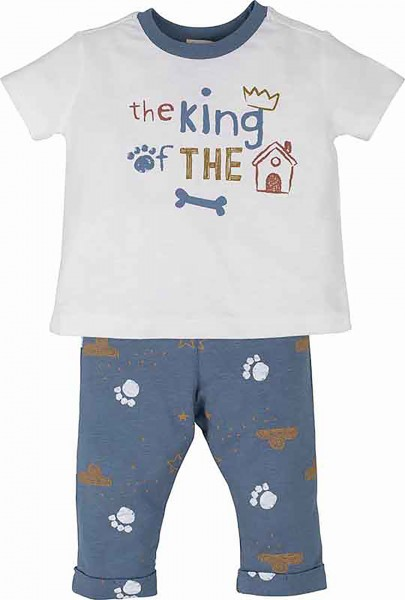 Jungen Schlafanzug -the king of the house