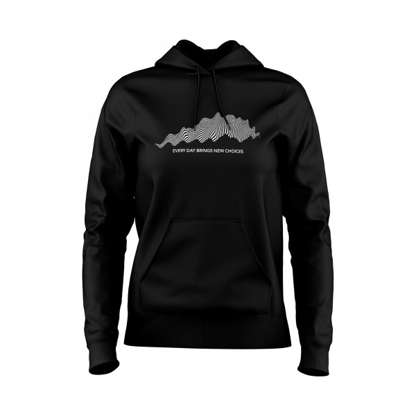 Damen Hoodie -Every day brings new choices I