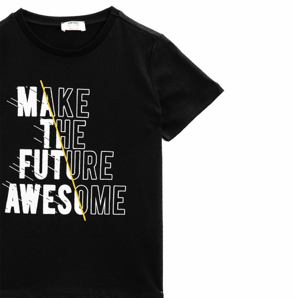 Jungen T-Shirt -make the future awesome
