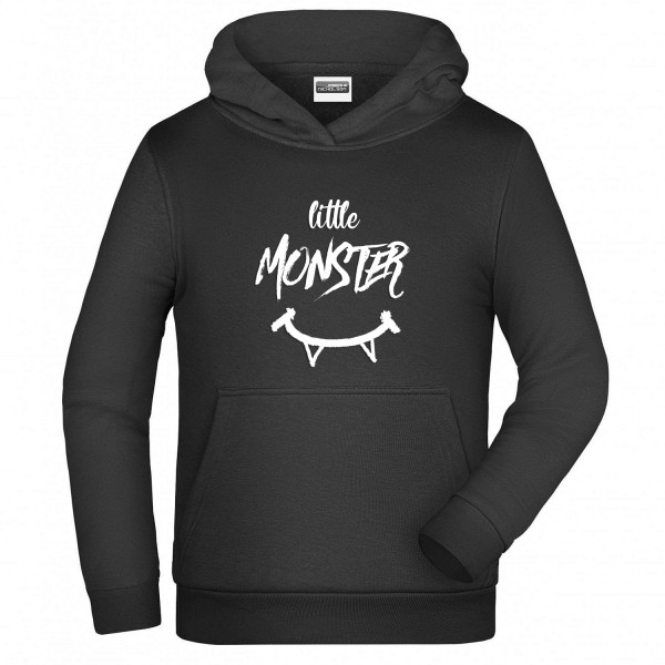 "Jungen Hoodie ""Little Monster"""