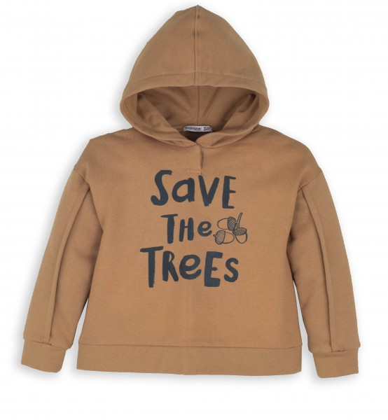 Jungen Hoodie -save the trees