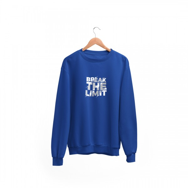 "Herren Sweatshirt ""Break the limit"""