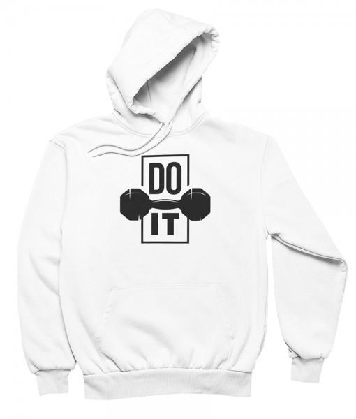 "Herren Hoodie ""Do it"""