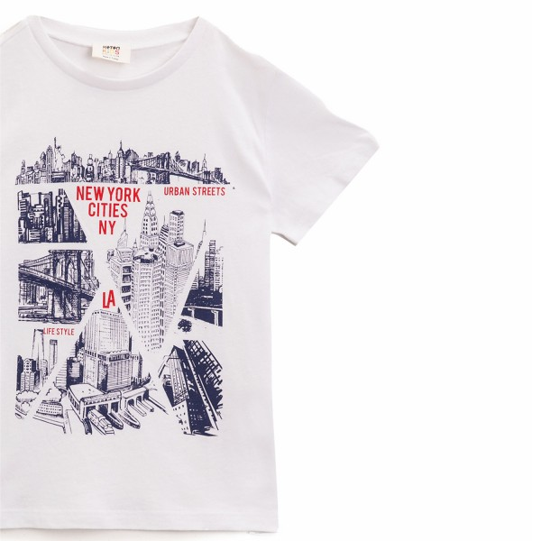 Jungen T-Shirt -NY cities