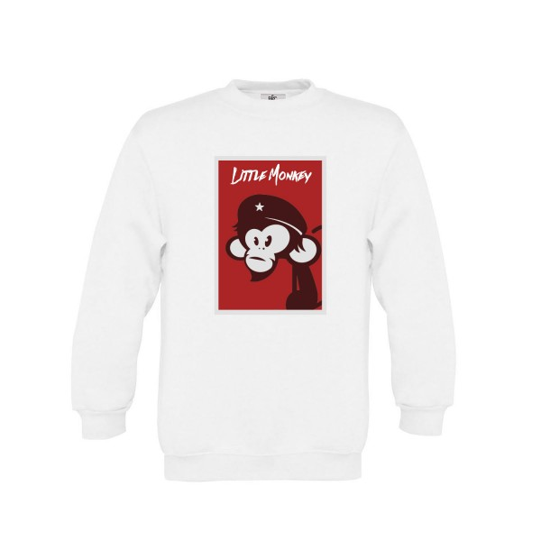 "Jungen Sweatshirt ""Little Monkey"""